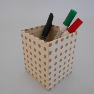 Dot Stripe Range Pencil Holder