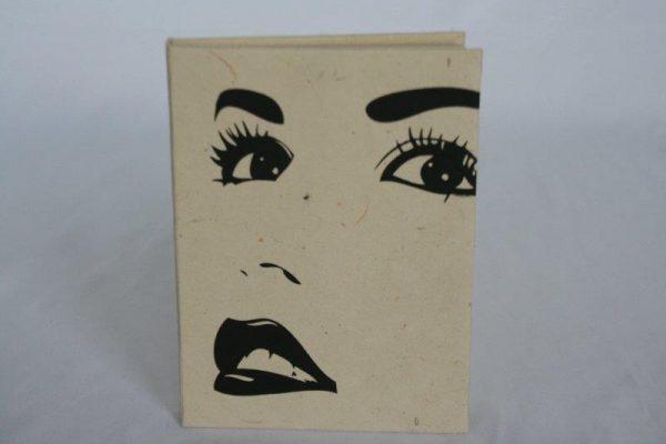 Face Print Notebook