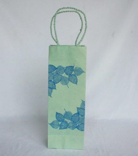 Cotton Wood Design Wine Bag