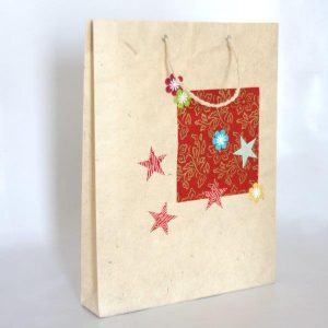 Christmas Design Shopping Bag