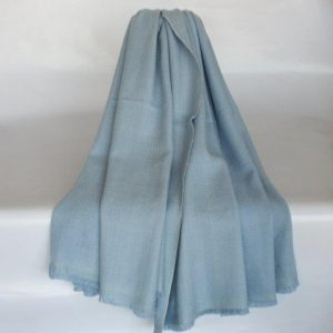 100% Wool Jacquard Shawl