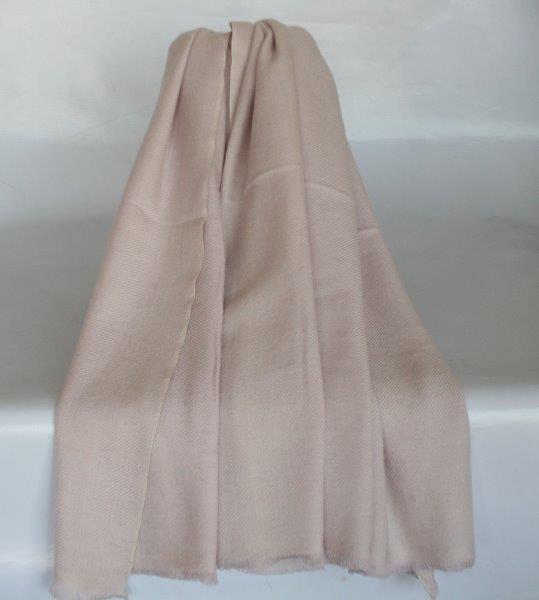 100% Wool Jacquard Shawl