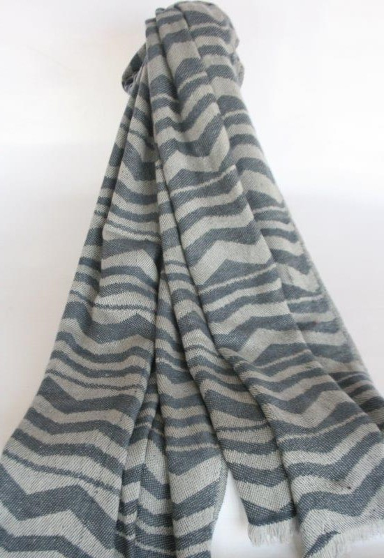 100% 28/2 Jacquard Shawl and Throw
