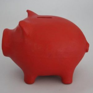 Pig Shape Piggy Bank