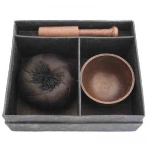 Singing Bowl With Stand Set