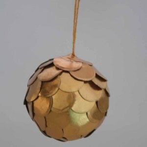 Christmas Decoration Ball (Golden)
