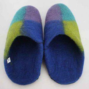 Felt Heel Slippers