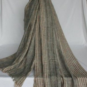 100% Woolen Chess Check Half Shawl